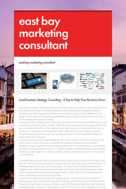 east bay marketing consultant