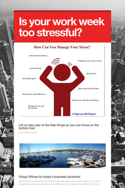 Is your work week too stressful?