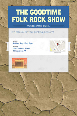 The Goodtime Folk Rock Show