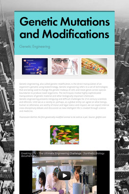 Genetic Mutations and Modifications