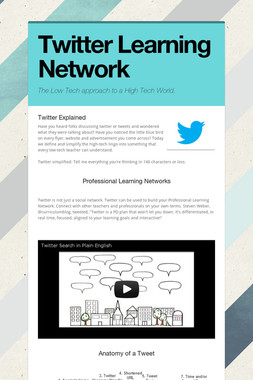Twitter Learning Network