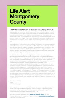 Life Alert Montgomery County