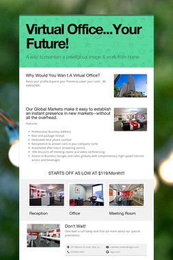 Virtual Office...Your Future!