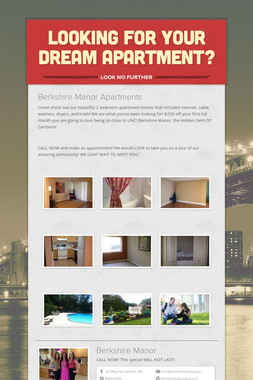 Looking for your DREAM APARTMENT?