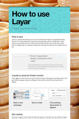 How to use Layar