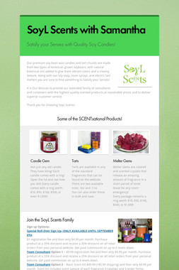 SoyL Scents with Samantha