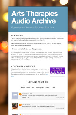 Arts Therapies Audio Archive