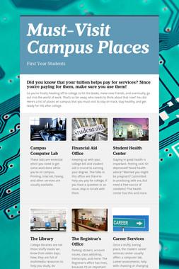 Must-Visit Campus Places