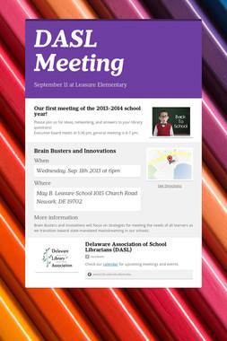 DASL Meeting
