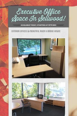 Executive Office Space In Sellwood!
