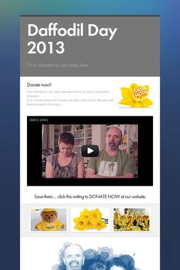 Daffodil Day 2013