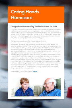 Caring Hands Homecare