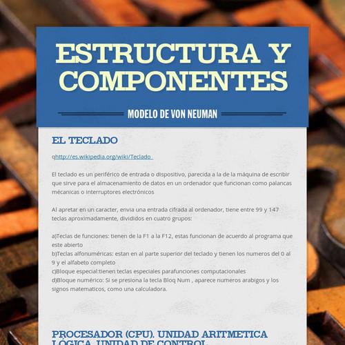 Estructura y componentes