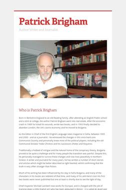 Patrick Brigham