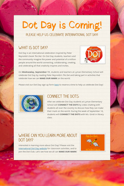 Dot Day is Coming!