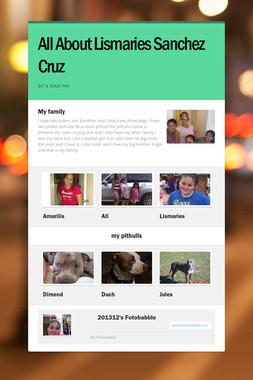All About Lismaries Sanchez Cruz