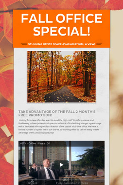 Fall office Special!