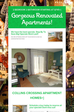 Gorgeous Renovated Apartments!
