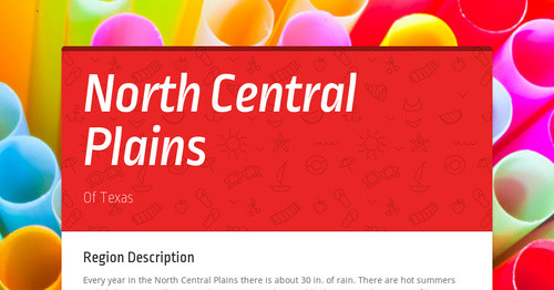 North Central Plains Smore Newsletters