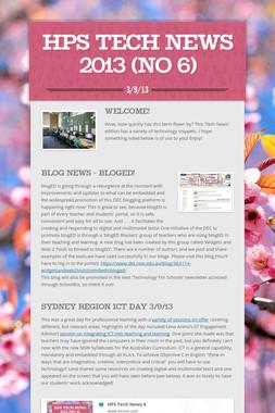 HPS Tech News 2013 (No 6)