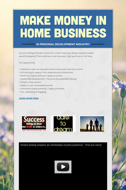 Make Money in Home Business