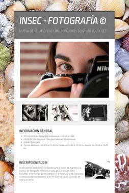 INSEC - FOTOGRAFÍA  ©