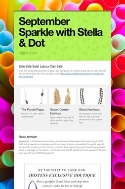 September Sparkle with Stella & Dot