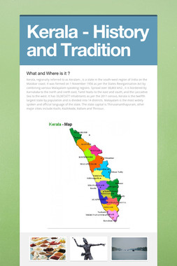 Kerala - History and Tradition