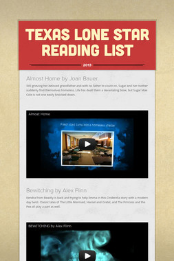 Texas Lone Star Reading List
