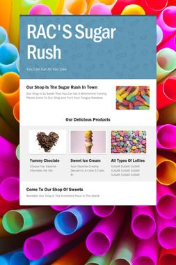 RAC'S Sugar Rush