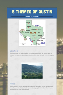 5 Themes of Austin