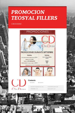 PROMOCION TEOSYAL FILLERS