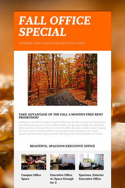 FALL OFFICE SPECIAL