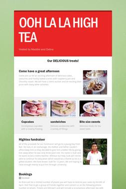 OOH LA LA HIGH TEA