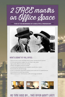 2 FREE months on Office Space