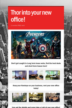 Thor into your new office!