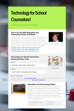 Technology for School Counselors!