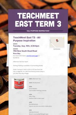 TeachMeet East Term 3