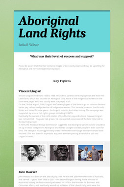 Aboriginal Land Rights