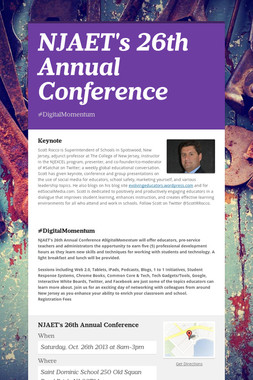 NJAET's 26th Annual Conference