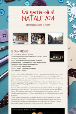 Gli spettacoli di  NATALE  2014