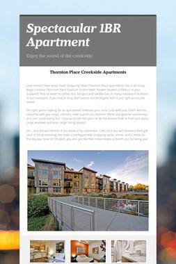 Spectacular 1BR Apartment