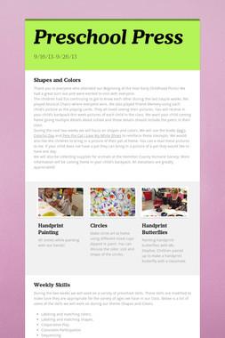 Preschool Press