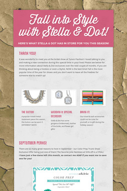 Fall into Style with Stella & Dot!