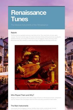 Renaissance Tunes