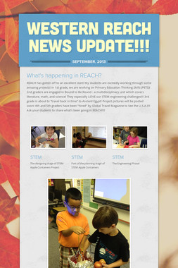 WESTERN REACH NEWS UPDATE!!!