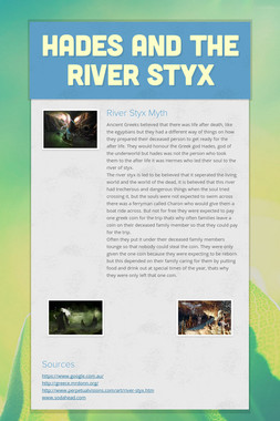 Hades and the River Styx