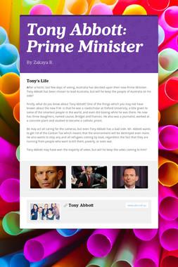 Tony Abbott: Prime Minister