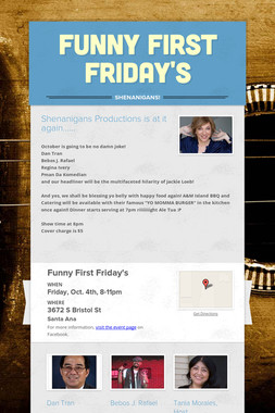 Funny First Friday's