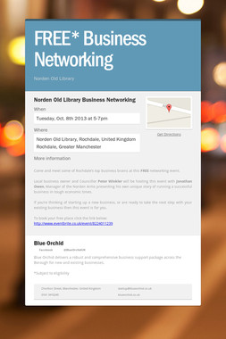 FREE* Business Networking